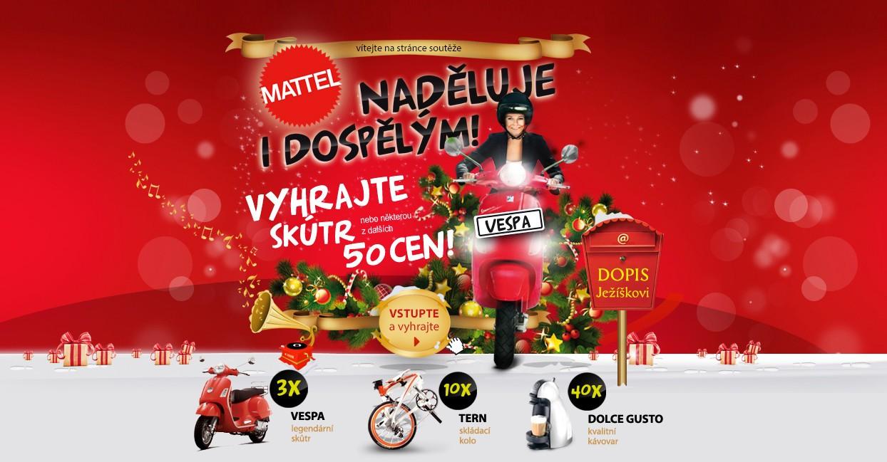 Mattel naděluje dárky (i dospělým)!